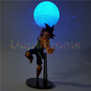 Dragon Ball Z Burdock DIY Led Night Lights Lamp Kamehameha Anime Dragon Ball Z DBZ Son Goku Led Light Lampara
