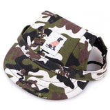 Pet Dog Cap Small Pet Summer Canvas Cap Dog Baseball Visor Hat Puppy Outdoor 8 Styles Dogs Hats Pet Supplies DOGGYZSTYLE