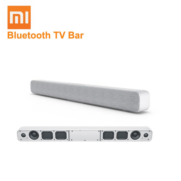 Hot Xiaomi Bluetooth TV Sound Bar Clear Speaker Support SPDIF AUX In Wall/ Seat Installation Wireless TV Bar For Home Theater