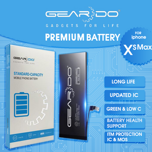 Premium Geardo iPhone XS Max Battery Standard Capacity 3174mAh
