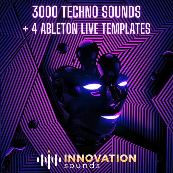 3000 Techno Sounds + 4 Ableton Live Templates