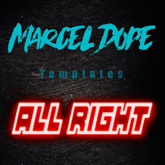 All Right - Ableton Live Tech House Template by Marcel Dope