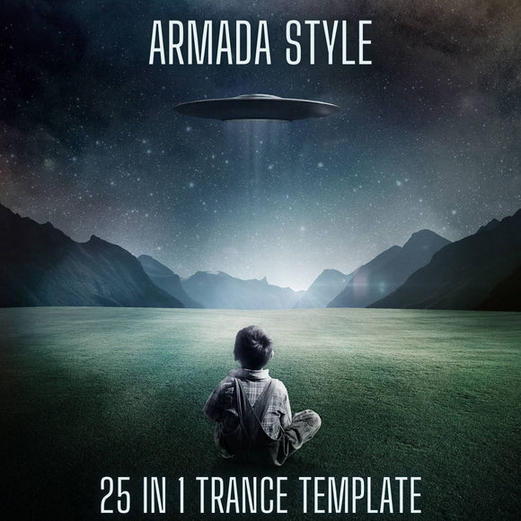 Armada Style 25 in 1 FL Studio Trance Template by Myk Bee