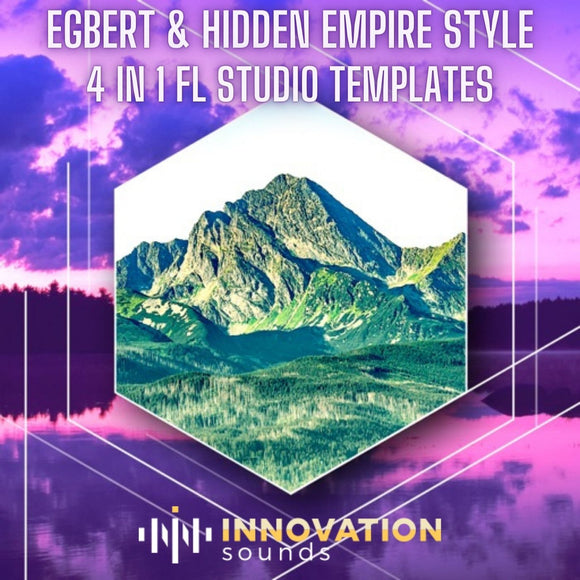 Egbert & Hidden Empire 4 FL Studio Techno Templates