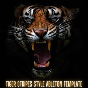 Tiger Stripes Style Ableton Live Template by Innovation Sounds (Only Ableton Live Plugins)