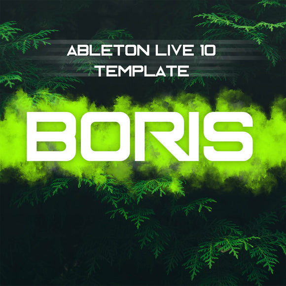 Boris - Ableton Techno Template by Audio Fuel