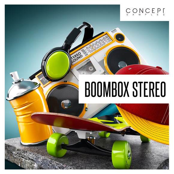 Boombox Stereo Hip Hop Sample Pack