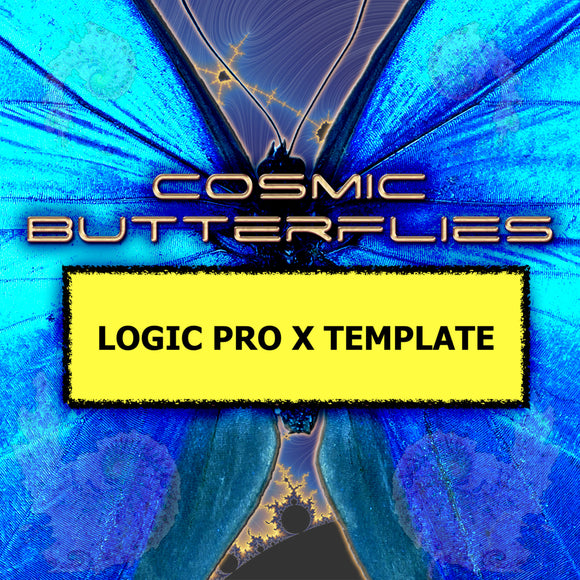 Cosmic Butterflies / Logic Pro X EDM Template by Jon Brooks