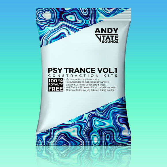 Psy Trance Vol. 1 by Andy Tate