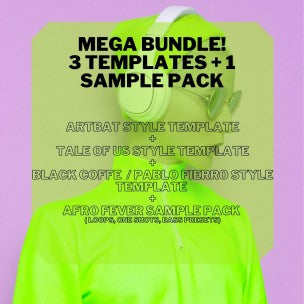 Melodic Techno Mega Bundle (3 Ableton Templates & 1 Samples Pack) by Steven Angel