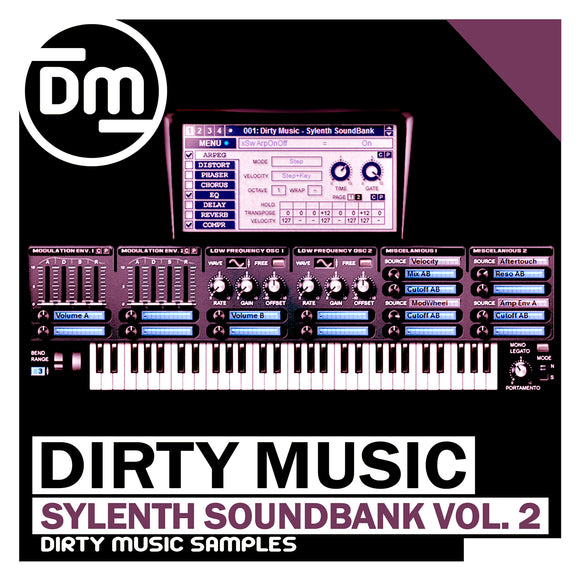 Deep-Tech Sylenth SoundBank Vol. 2 + 15 Bonus Midi Files