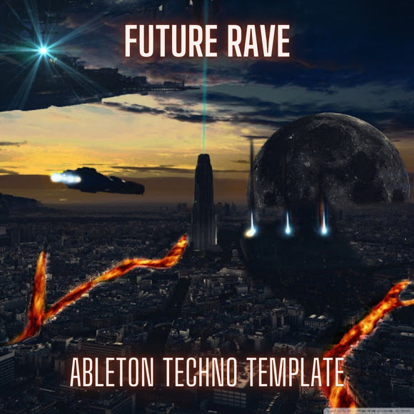 Future Rave  - Ableton Live Techno Template by Stay Box