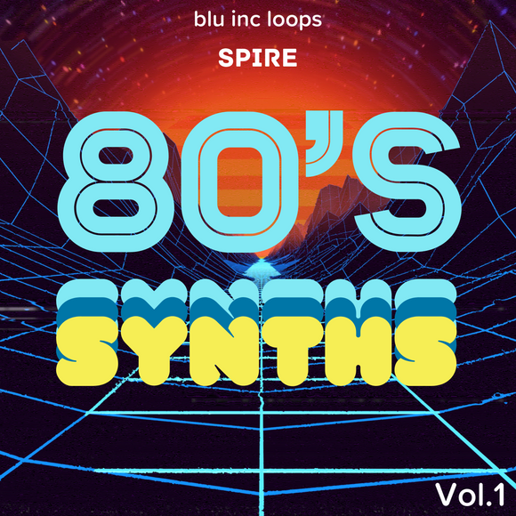 Spire 80's Synths Vol. 1 by Blu Inc Loops