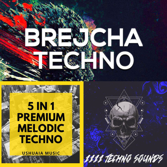 Insane Bundle (Brejcha Techno + 1111 Techno Sounds + 5 in 1 Melodic Techno