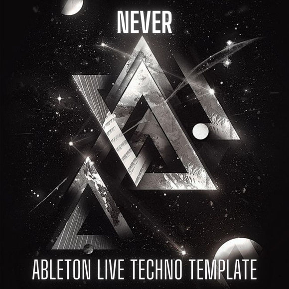 Never - Bodzin Style Ableton Live Techno Template