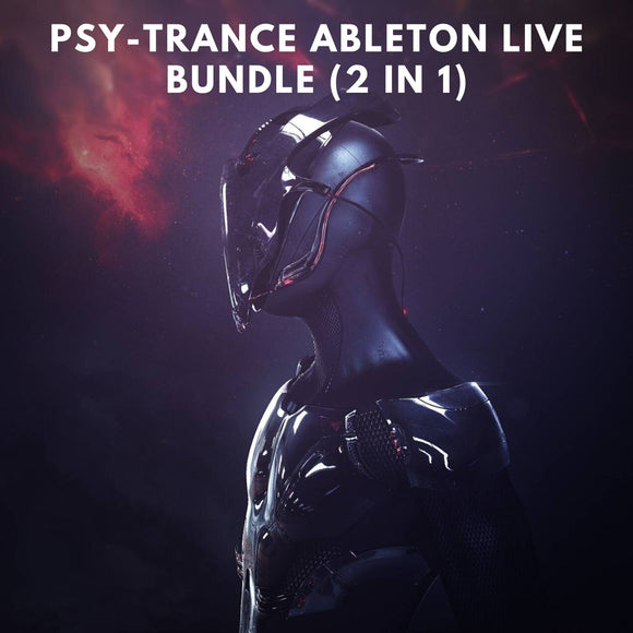 Psy-Trance Ableton Live Bundle (2 in 1)