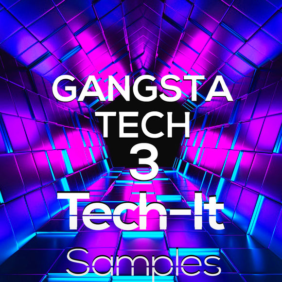 Gangsta Tech Sample Pack