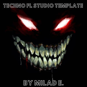 Techno FL Studio Template Vol. 1 by Milad E.