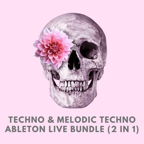 Techno & Melodic Techno Ableton Live Template Bundle (2 in 1)