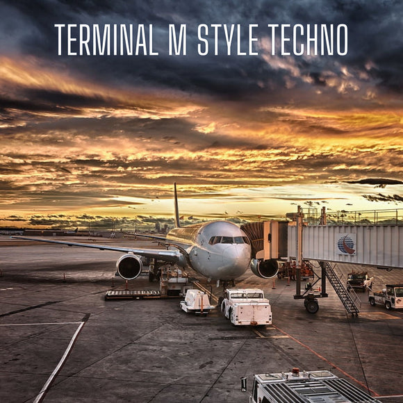 Terminal M Style 3 in 1 FL Studio Techno Template