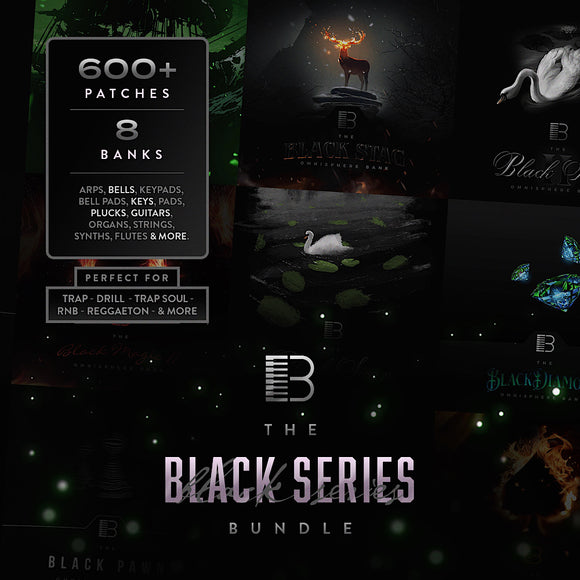 The Black Series Bundle (Omnisphere Bank + Patches)