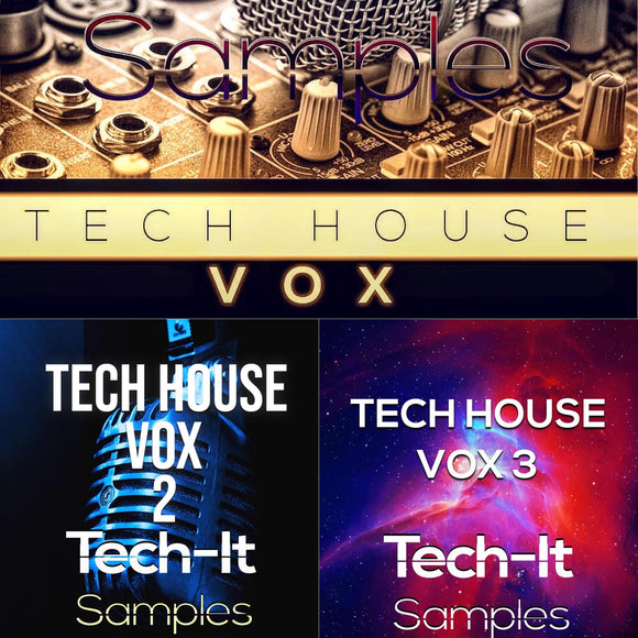 Tech House VOX Bundle Samples