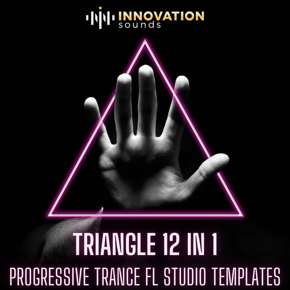 Triangle 12 in 1 Progressive Trance FL Studio Templates