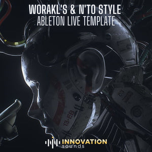 Worakls & N'to Style Melodic Techno Ableton Live Template (Only Ableton Live Plugins)