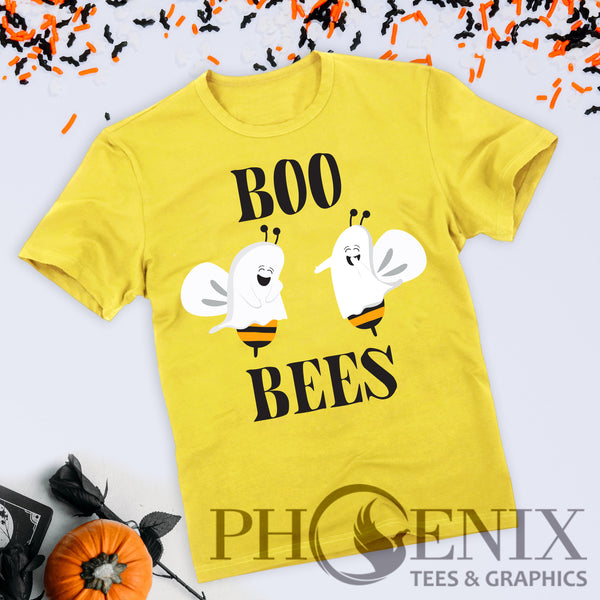 Crew Neck T-Shirt - Boo Bees