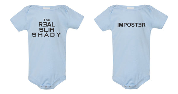 Onesie Twin Set - The Real Slim Shady & Imposter