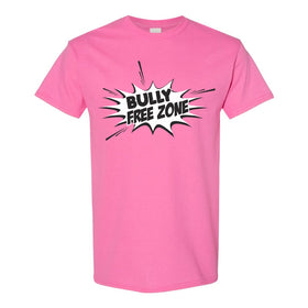 Crew Neck T-shirt - Bully Free Zone