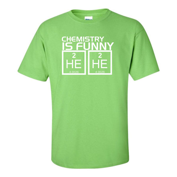 Crew Neck T-shirt - Chemistry Is Funny