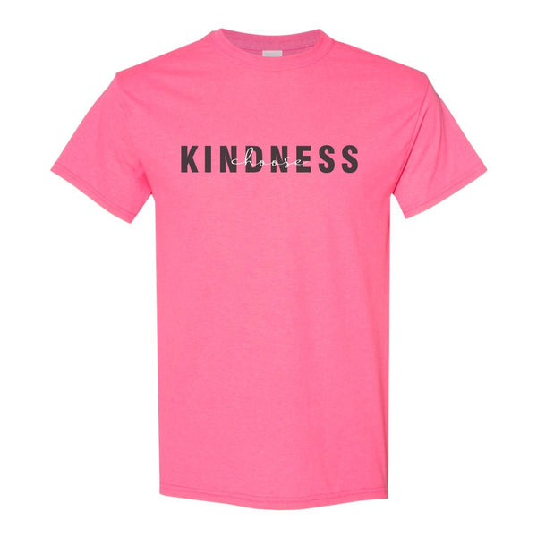 Crew Neck T-shirt - Choose Kindness