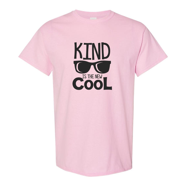 Crew Neck T-shirt - Kind Is The New Cool