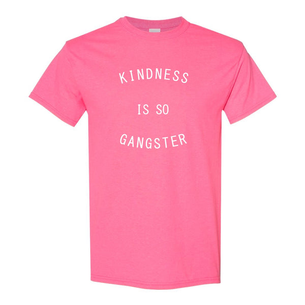 Crew Neck T-shirt - Kindness Is So Gangster