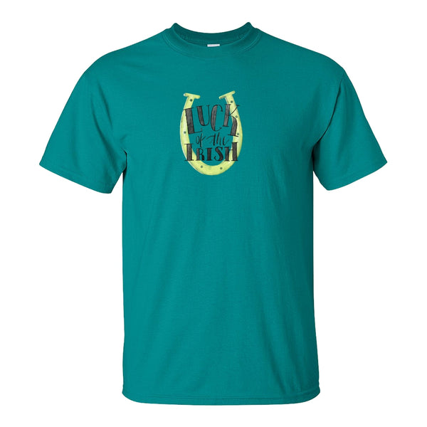 Crew Neck T-shrit - Luck Of The Irish
