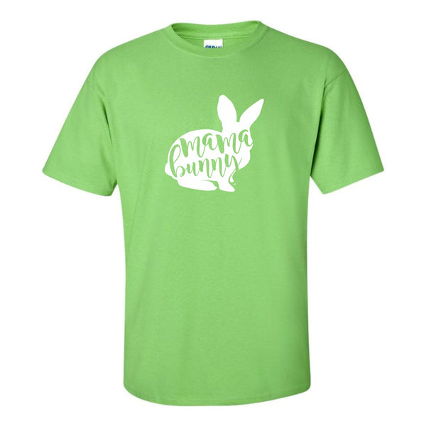 Women's Crew Neck T-shirt - Mama Bunny