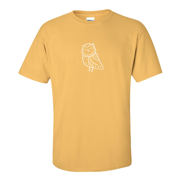 Women's Crew Neck T-shirt - Cute Owl
