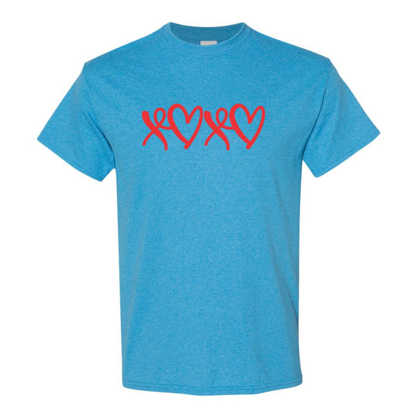 Crew Neck T-shirt - XOXO