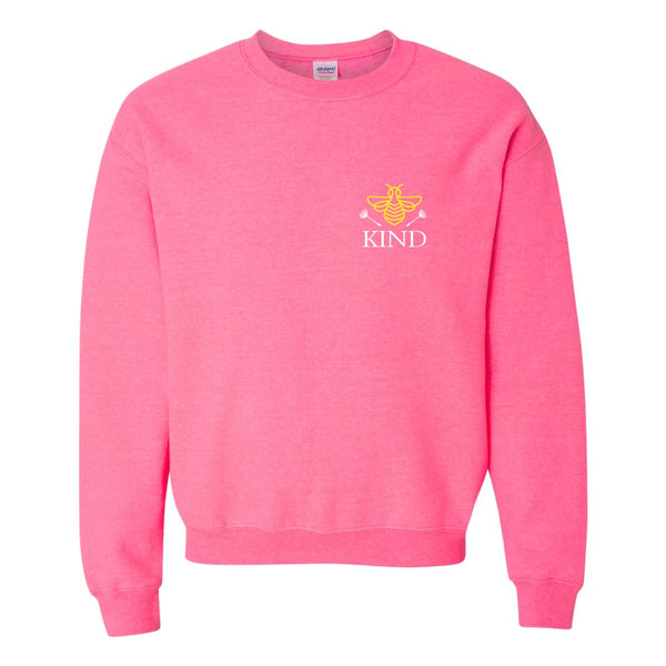 Crew Neck Sweat Shirt - Bee Kind