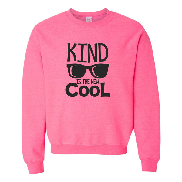 Crew Neck Sweat Shirt - Kind Is The New Cool
