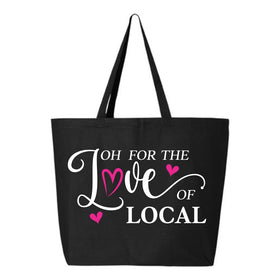 Tote Bag - For The Love Of Local