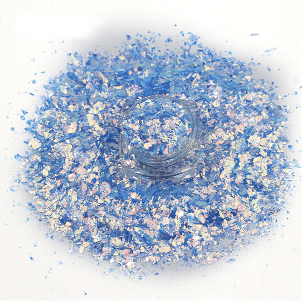 Nail Flakes - Holographic Mixed Nail Flakes (9 different styles) - BUY 10 GET 2 FREE!!