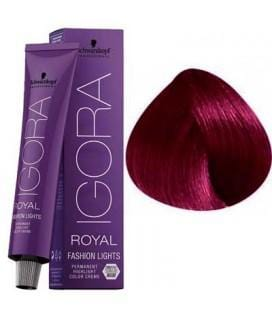 Schwarzkopf Permanent Color  - Igora Royal Fashion Lights #L89 Red Violet (60g)