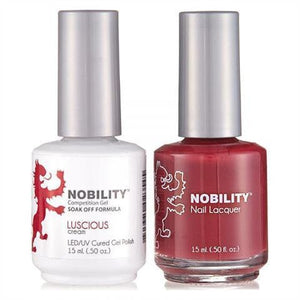 Nobility Duo Gel + Lacquer - NBCS036 Luscious