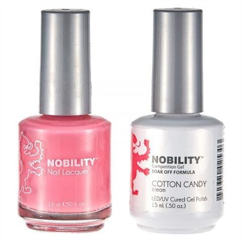 Nobility Duo Gel + Lacquer - NBCS080 Cotton Candy