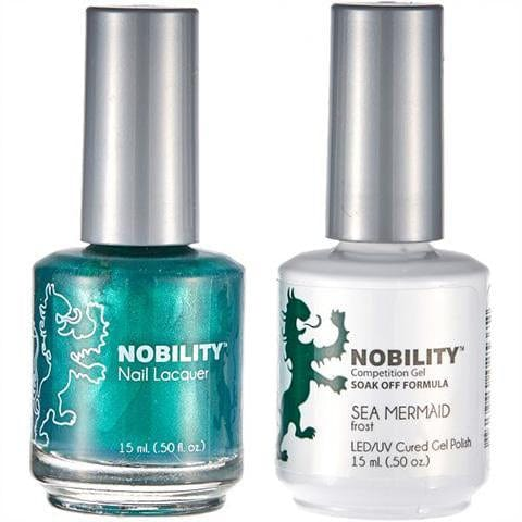 Nobility Duo Gel + Lacquer - NBCS087 Sea Mermaid