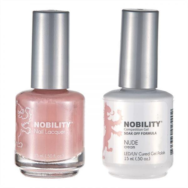 Nobility Duo Gel + Lacquer - NBCS090 Nude