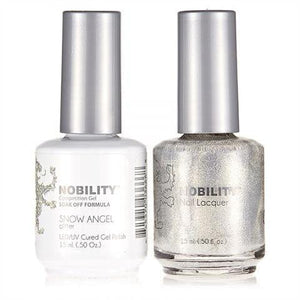 Nobility Duo Gel + Lacquer - NBCS127 Snow Angel