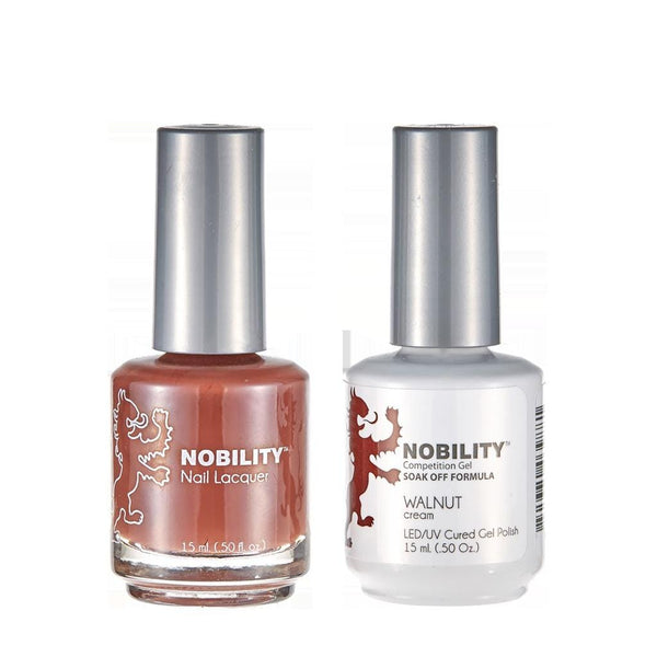 Nobility Duo Gel + Lacquer - NBCS170 Walnut